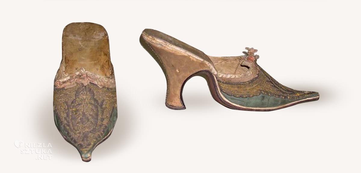 mulety, buty, moda francuska, rokoko, Niezła sztuka