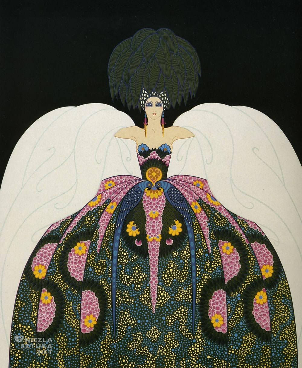 Erté, Copacabana, Romain de Tirtoff, moda, grafika, ilustracja, Niezła Sztuka