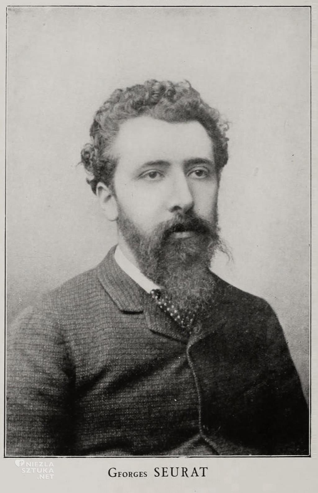 Georges Seurat, malarz francuski, sztuka francuska, malarstwo francuskie, neoimpresjonizm, pointylizm, Niezła sztuka