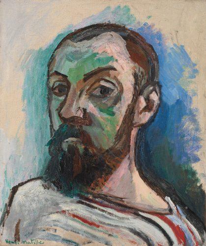 Henri Matisse, Autoportret w koszuli w paski, Niezła sztuka
