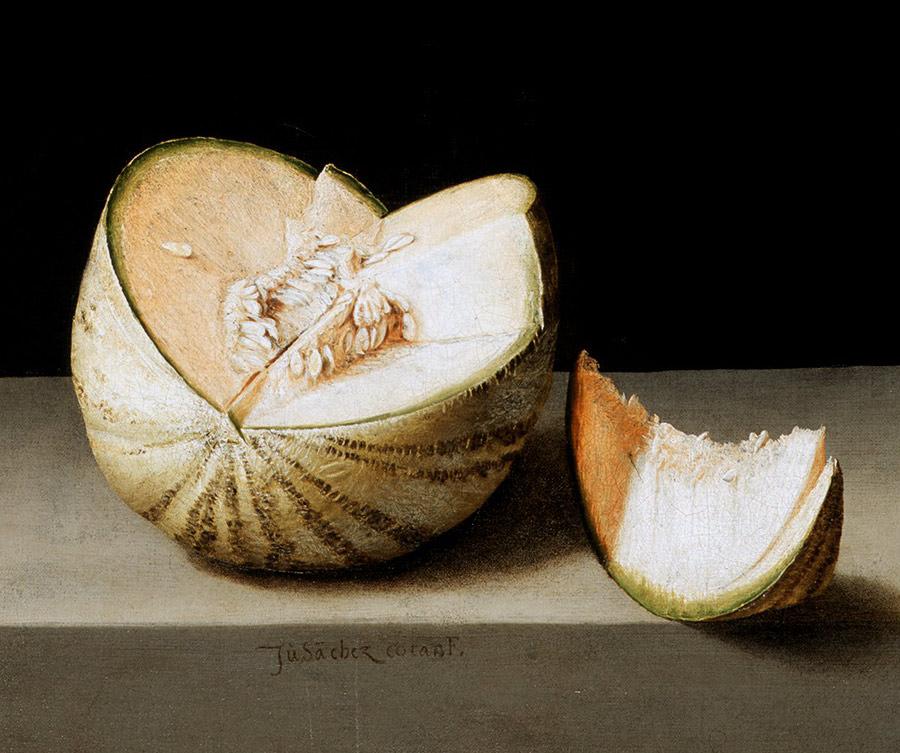 Juan Sanchez Cotan, martwa natura, martwa natura z warzywami, barok, hiszpański malarz, malarstwo hiszpańskie sztuka hiszpańska, Niezła sztuka