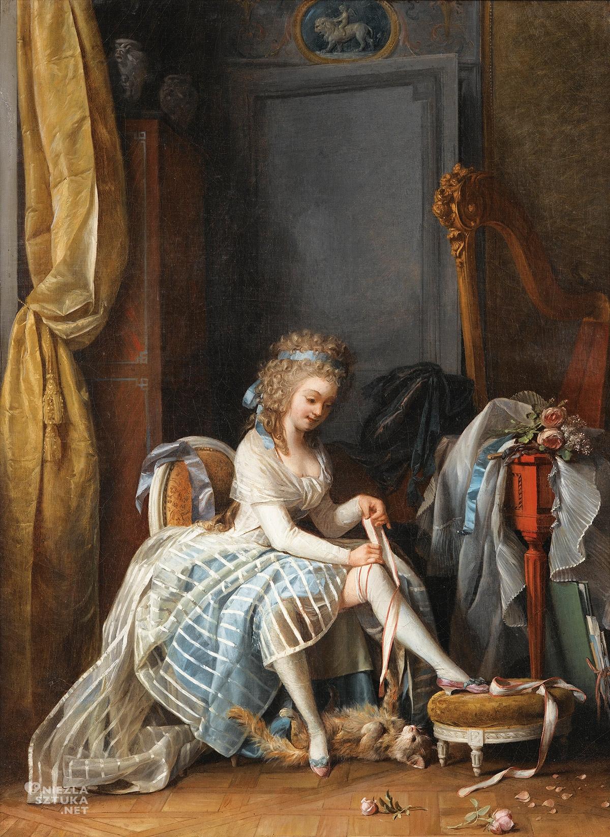 Niklas Lafrensen, malarstwo francuskie, rokoko, moda, Niezła sztuka