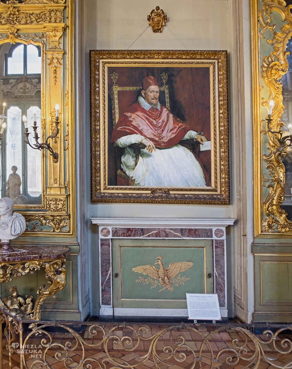 Diego Velázquez, Portret papieża Innocentego X, Galleria Doria Pamphilj, Rzym, Niezła sztuka