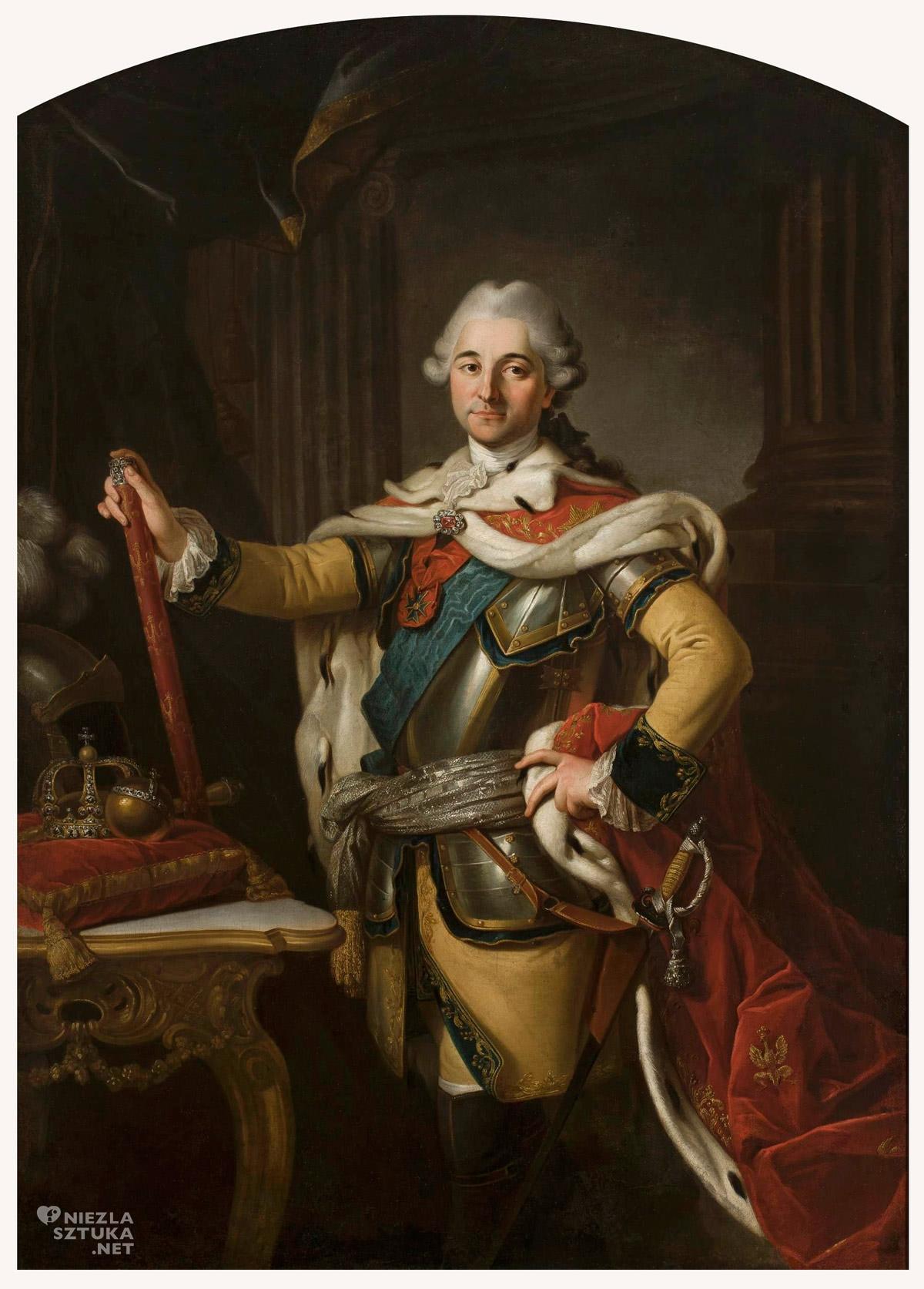 Per Krafft, Portret Stanisława Augusta Poniatowskiego, Stanisław August Poniatowski, Niezła sztuka