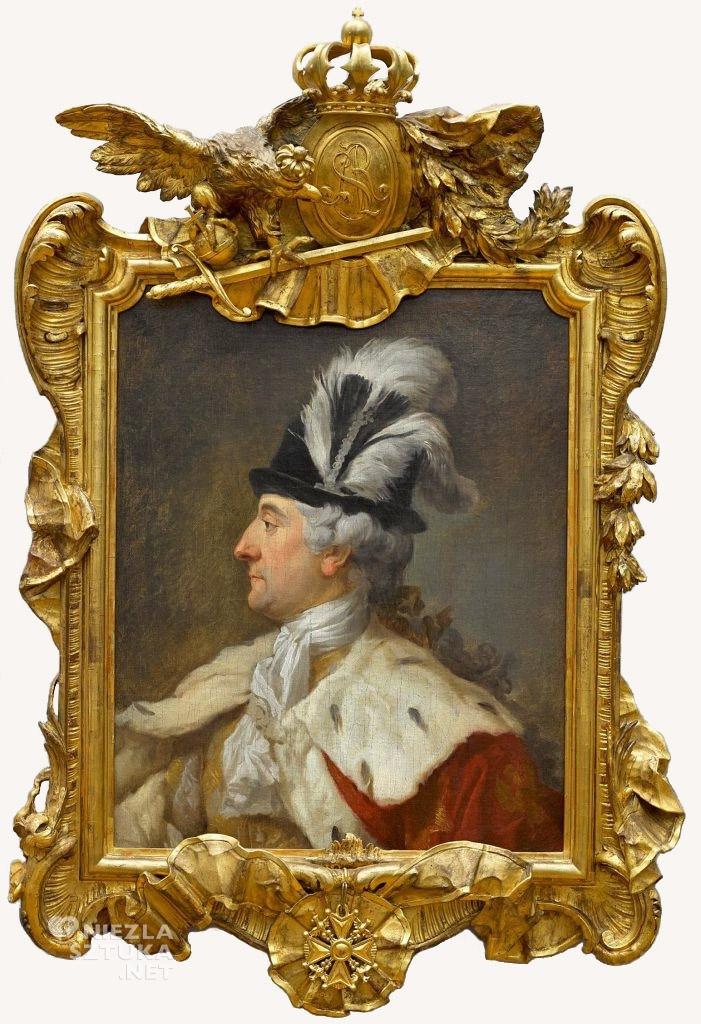 Marcello Bacciarelli, Portret Stanisława Augusta w kapeluszu z piórami, Stanisław August Poniatowski, Niezła sztuka