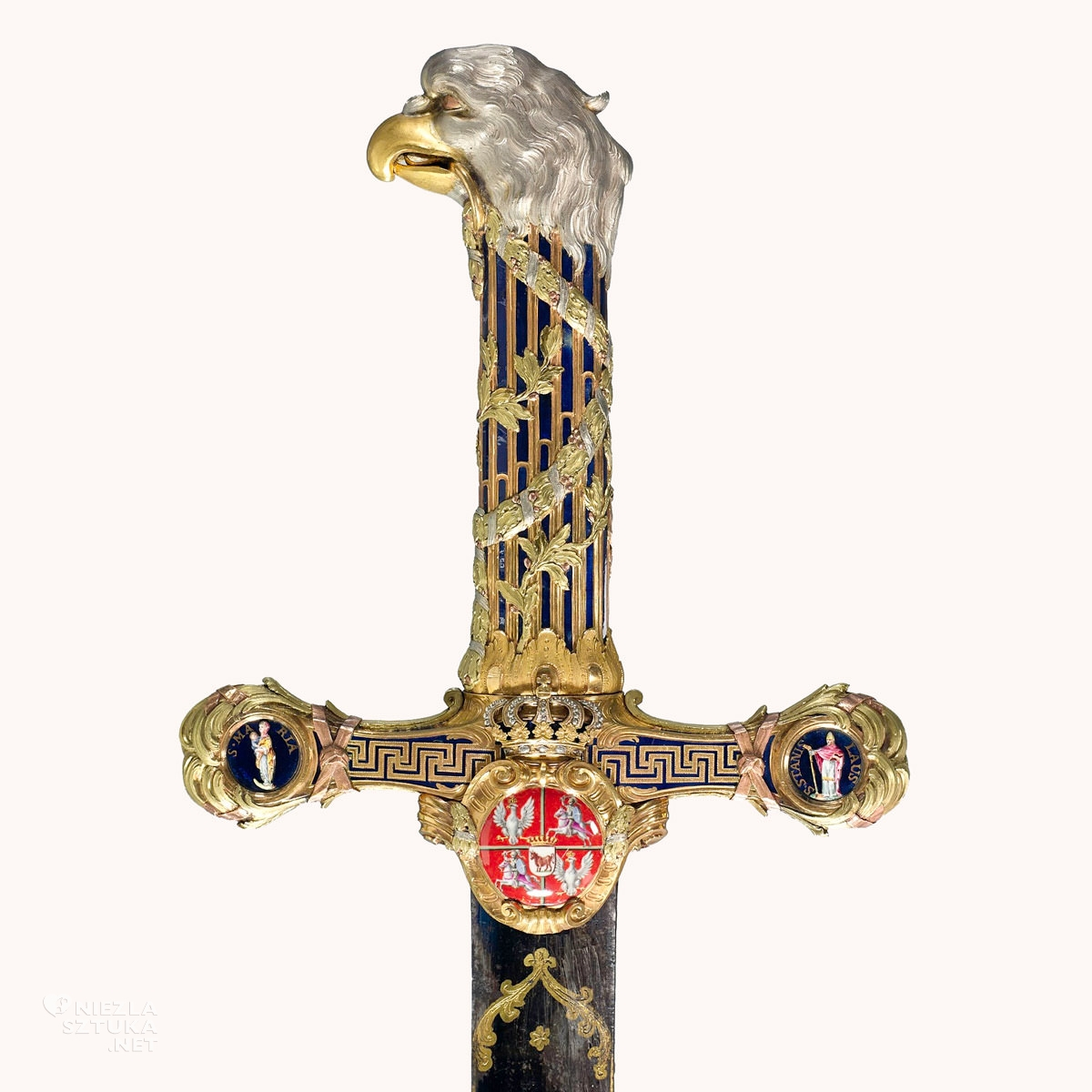 Miecz Orderu Orła Białego Stanisława Augusta Poniatowskiego, Niezła sztuka