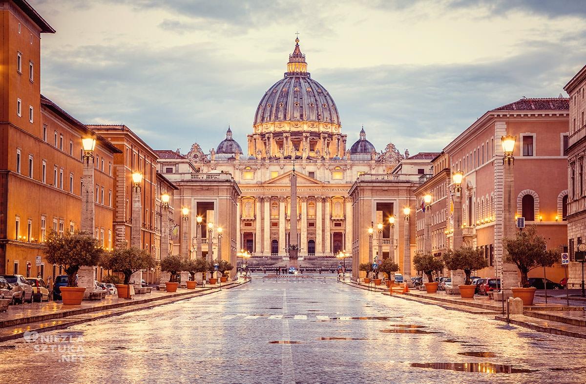 Bazylika Św. Piotra, sztuka włoska, rzeźba, Rzym, przewodnik po Rzymie, sztuka w Rzymie, Niezła sztuka