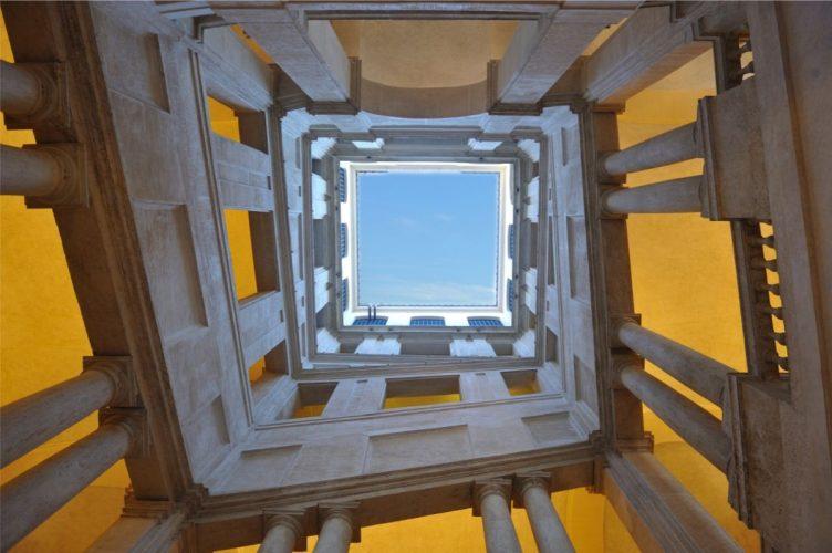 Gian Lorenzo Bernini, schody, klatka schodowa, Palazzo Barberini, Niezła sztuka