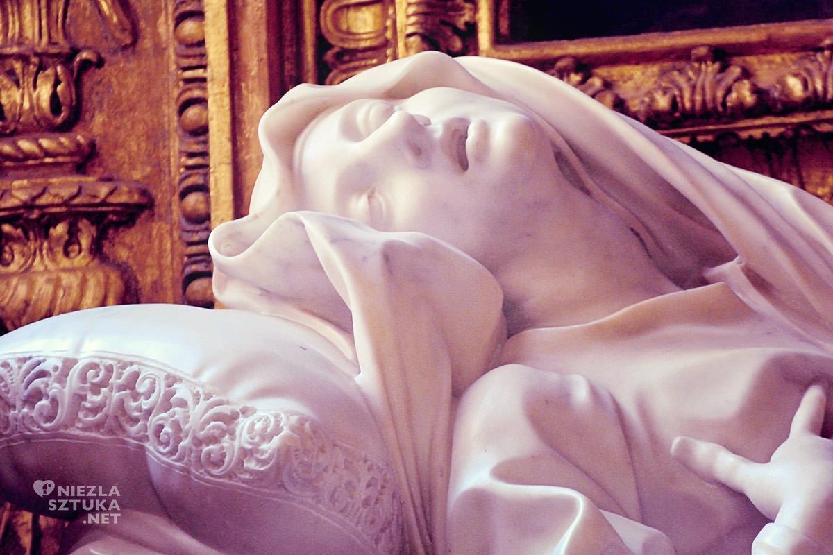Gian Lorenzo Bernini, Ludwika Albertoni, kościół San Francesco a Ripa, sztuka włoska, rzeźba, Rzym, przewodnik po Rzymie, sztuka w Rzymie, Niezła sztuka