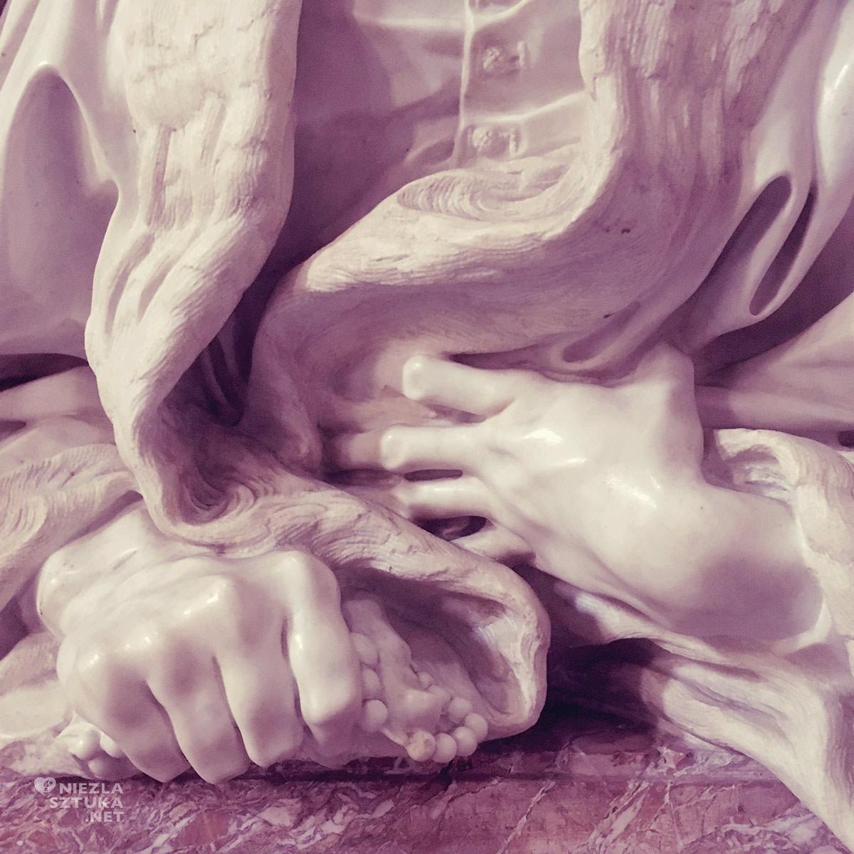 Gian Lorenzo Bernini, Popiersie Gabriele Fonseca, Kościół San Lorenzo in Lucina, sztuka włoska, rzeźba, Rzym, przewodnik po Rzymie, sztuka w Rzymie, Niezła sztuka