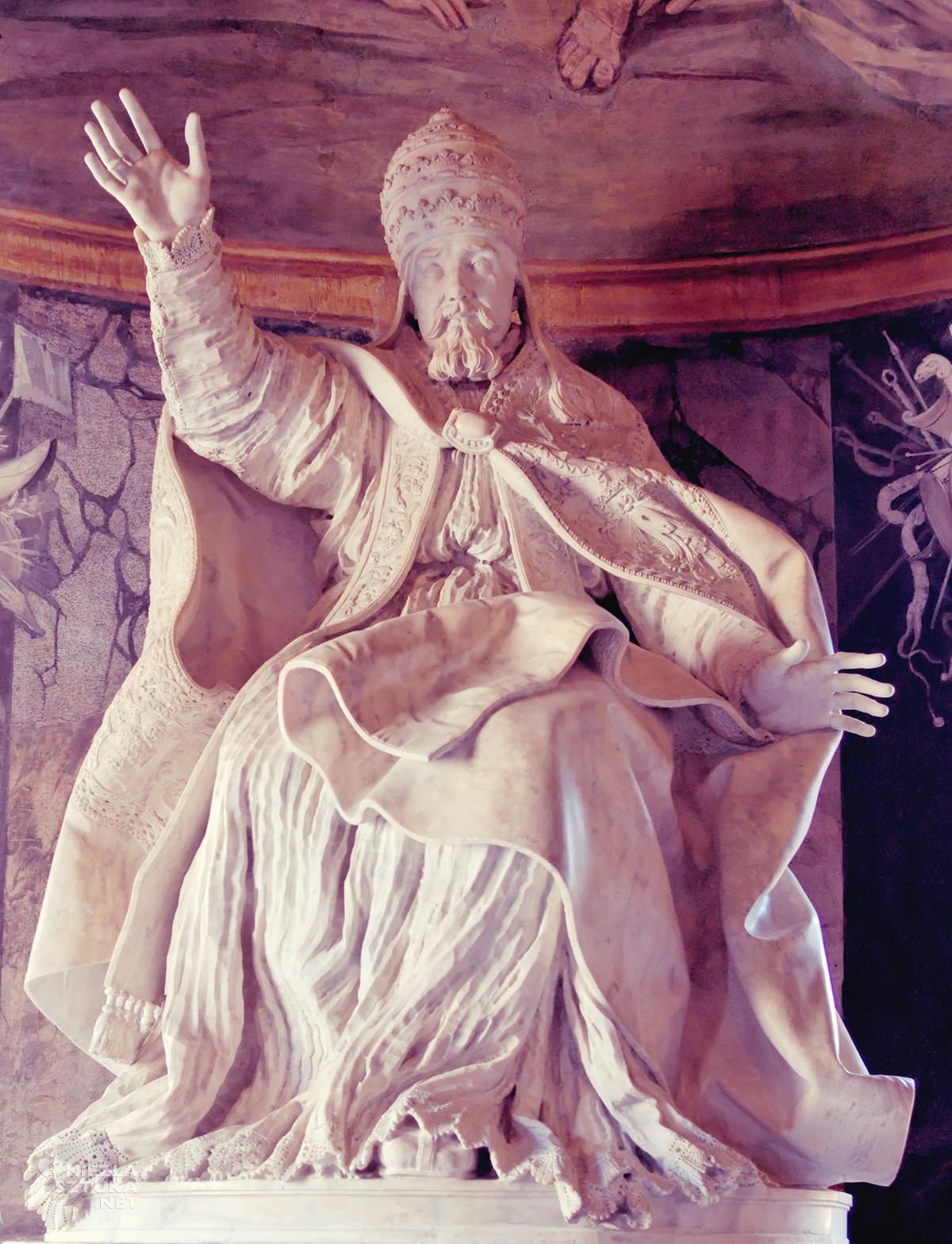Gian Lorenzo Bernini, papież Urban VIII, sztuka włoska, rzeźba, Rzym, przewodnik po Rzymie, sztuka w Rzymie, Muzea Kapitolińskie, Niezła sztuka