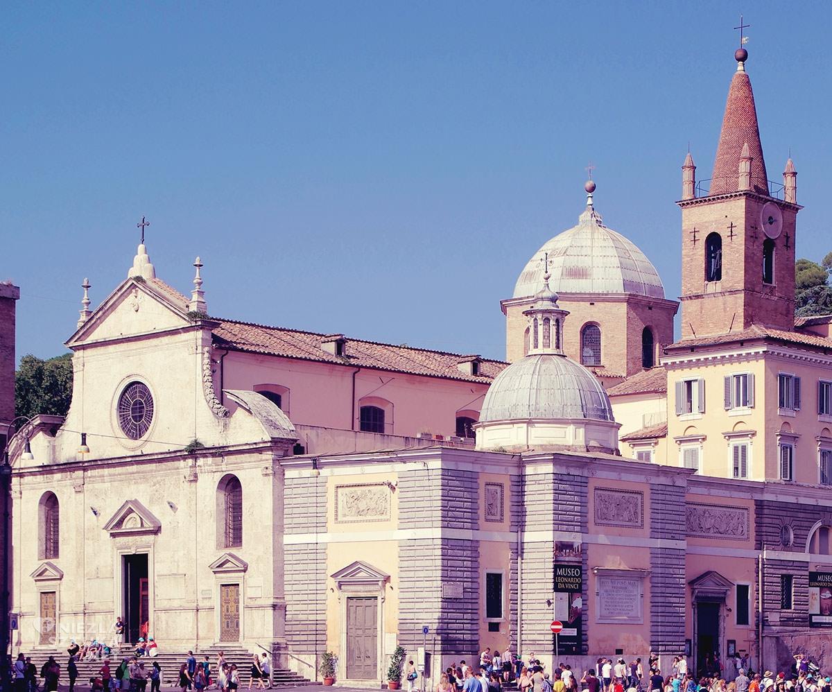 Gian Lorenzo Bernini, kościół Santa Maria del Popolo, sztuka włoska, rzeźba, Rzym, przewodnik po Rzymie, sztuka w Rzymie, Niezła sztuka