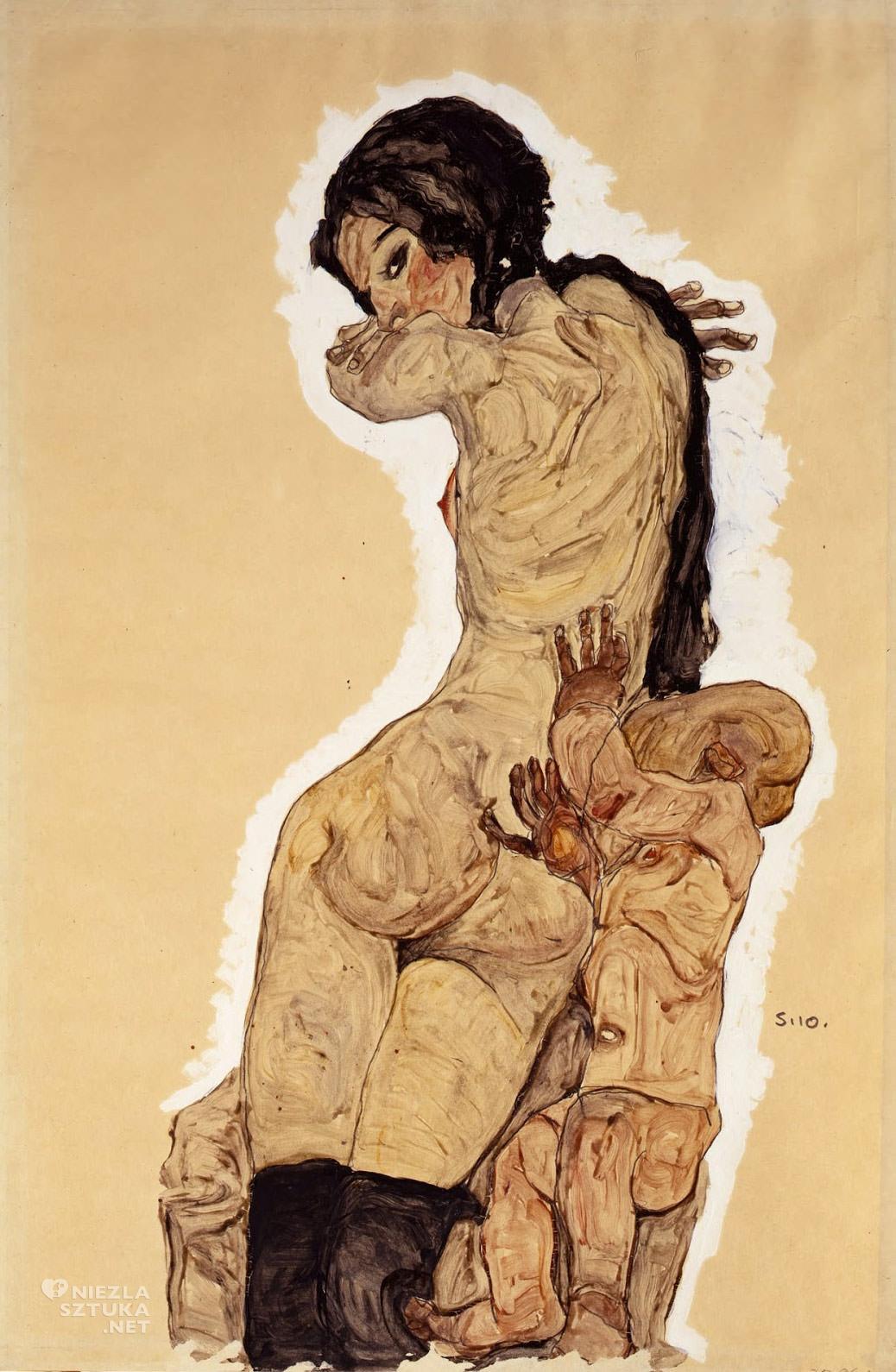 Egon Schiele, Kobieta i dziecko, sztuka austriacka, Niezła Sztuka