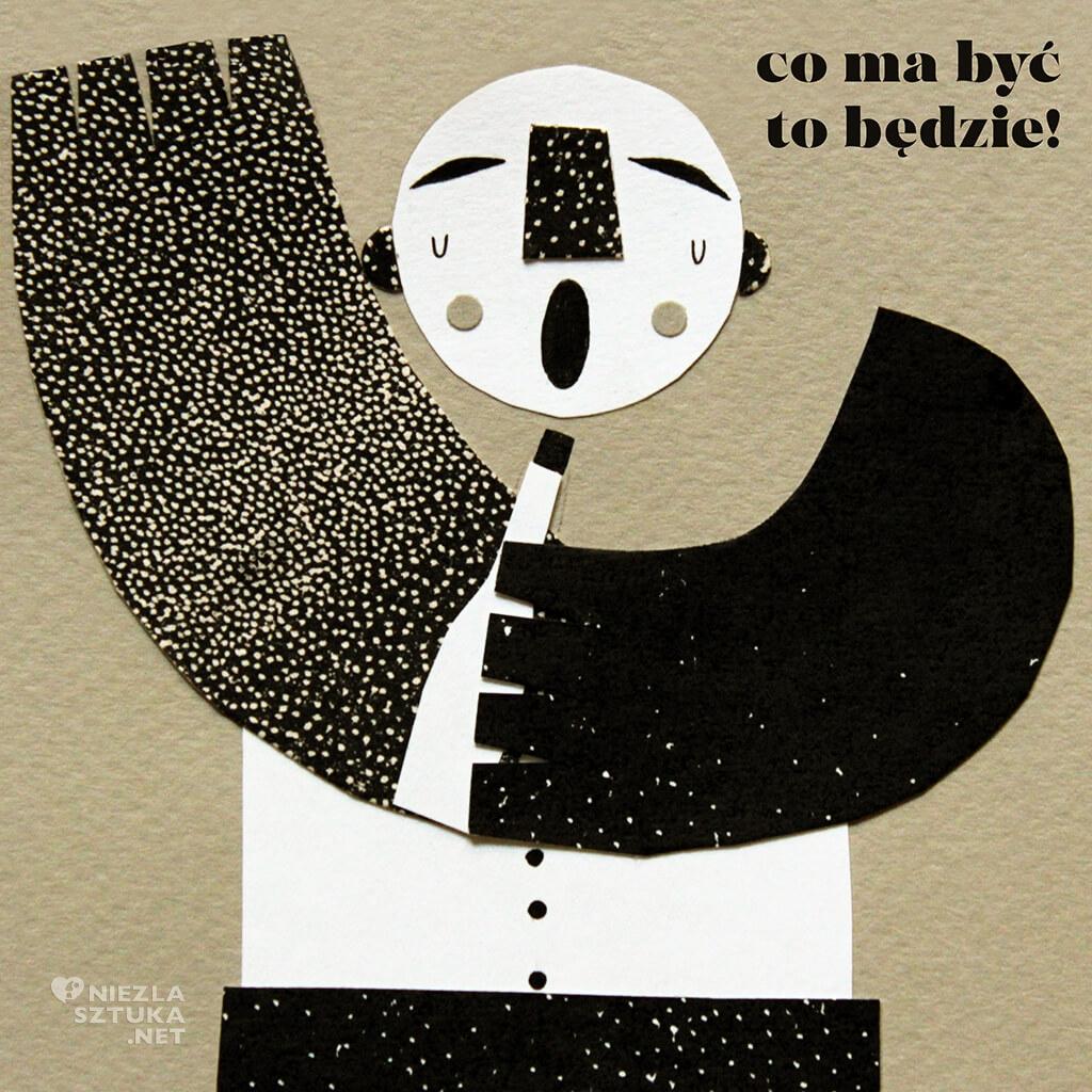 Gabriela Ochalik, kolaż, grafika, młoda sztuka, Niezła sztuka