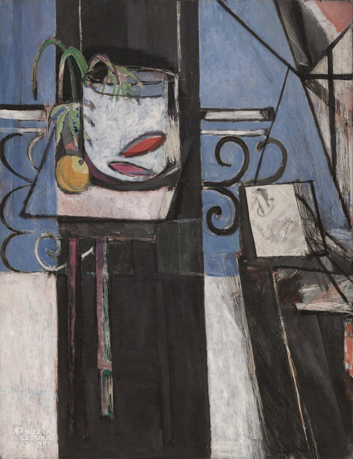 Henri Matisse, Złota rybka i paleta, malarstwo francuskie, Niezła sztuka