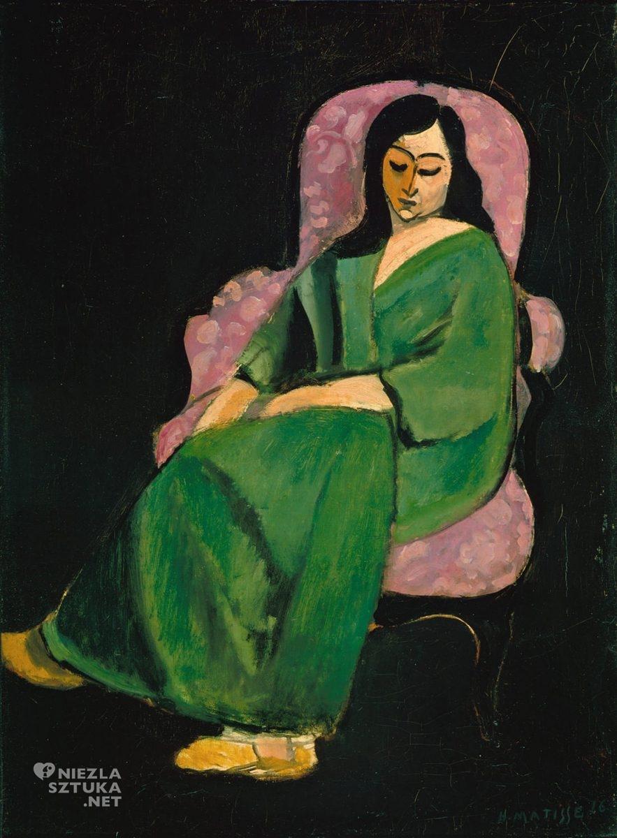Henri Matisse, Laurette w zielonej sukience, Niezła sztuka