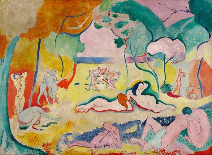 Henri Matisse, Radość życia, Le Bonheur de Vivre, malarstwo francuskie, Niezła sztuka