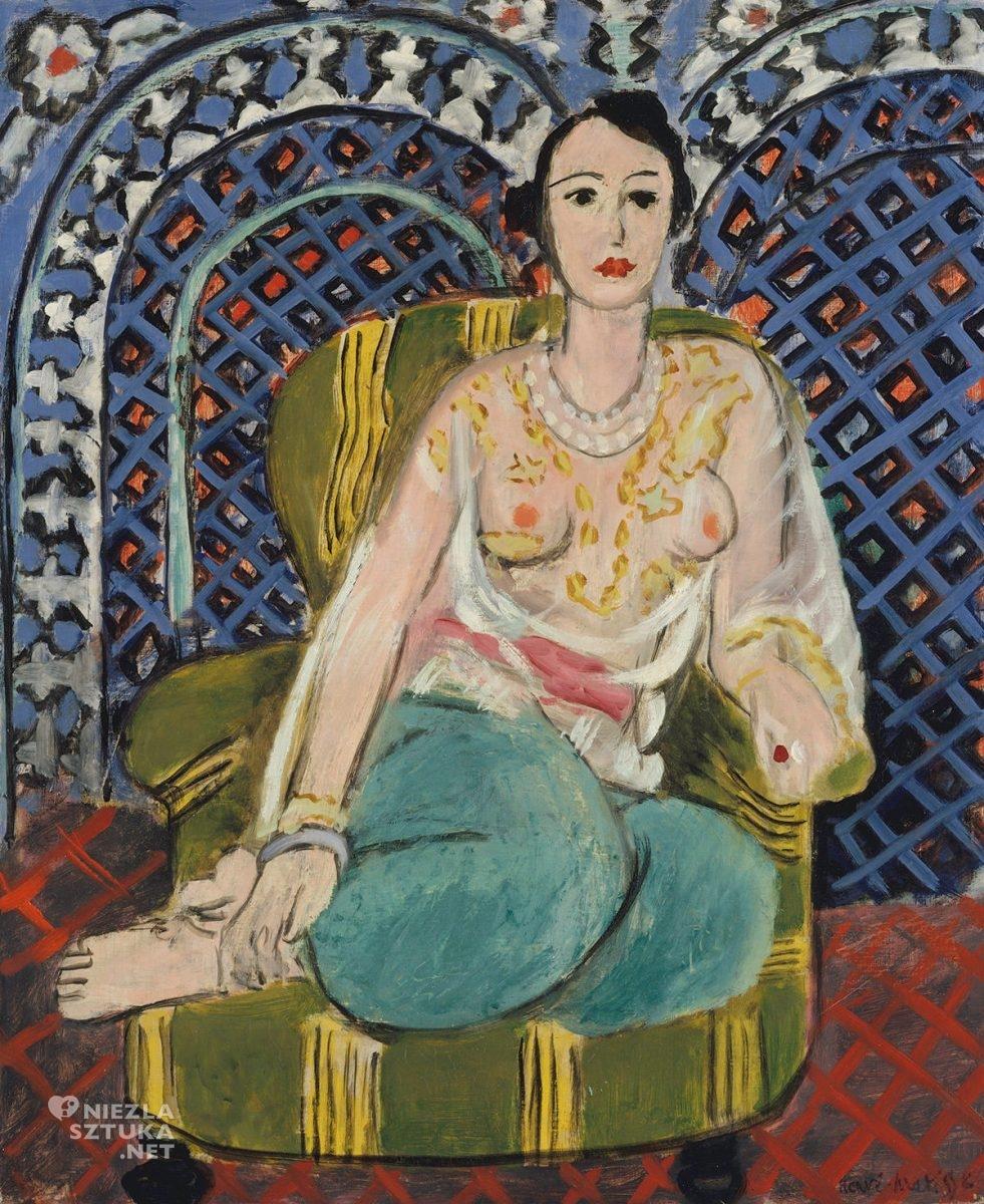 Henri Matisse, odaliska, Niezła sztuka