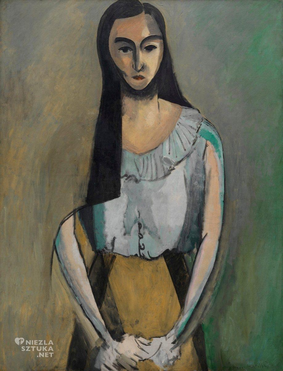 Henri Matisse, Włoszka, Guggenheim Museum, african art inspiration, Niezła sztuka