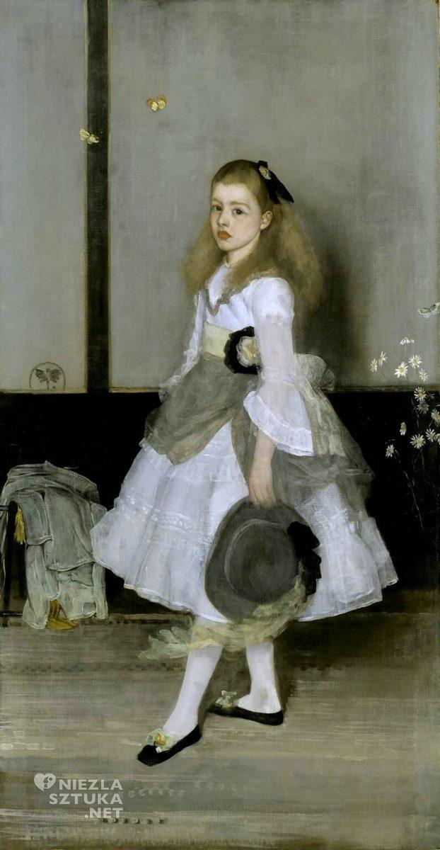 James Abbott McNeill Whistler, Harmonia wszarości izieleni: Miss Cicely Alexander, Niezła sztuka