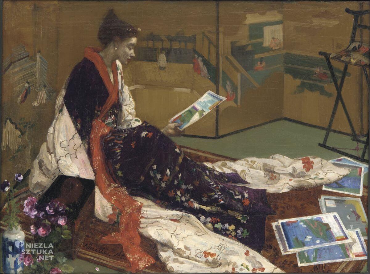 James Abbott McNeill Whistler, japonka, kaprys, Niezła sztuka