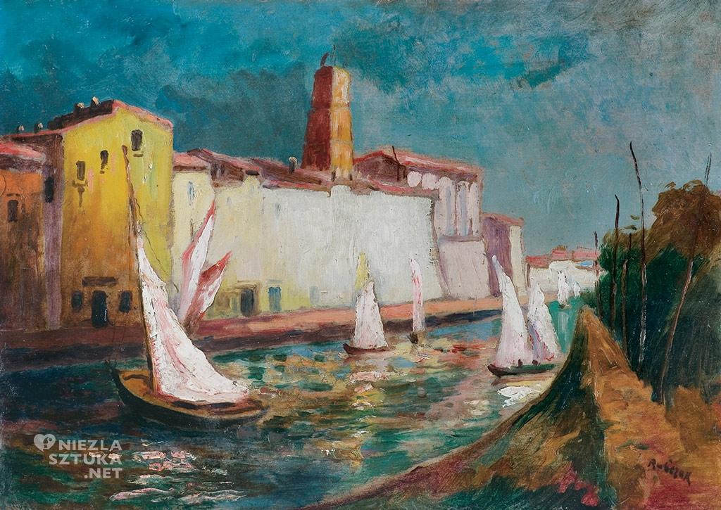 Jan Rubczak, Nad kanałem w Martigues, agraart, niezła sztuka