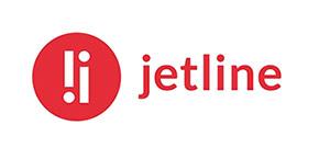 jetline logo, niezła sztuka