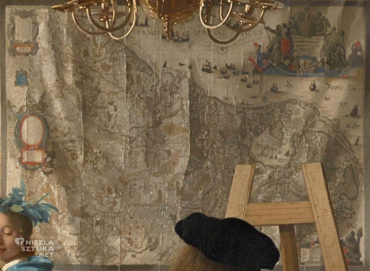 Johannes Vermeer, Alegoria malarstwa, malarstwo niderlandzkie, sztuka niderlandzka, Niezła sztuka