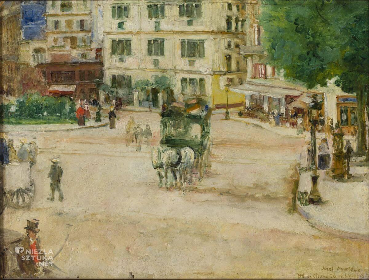 Józef Mehoffer, Plac Pigalle w Paryżu, sztuka polska, malarstwo polskie, Niezła sztuka