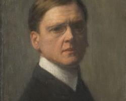 Józef Pankiewicz, Autoportret, malarz polski, sztuka polska, Niezła sztuka