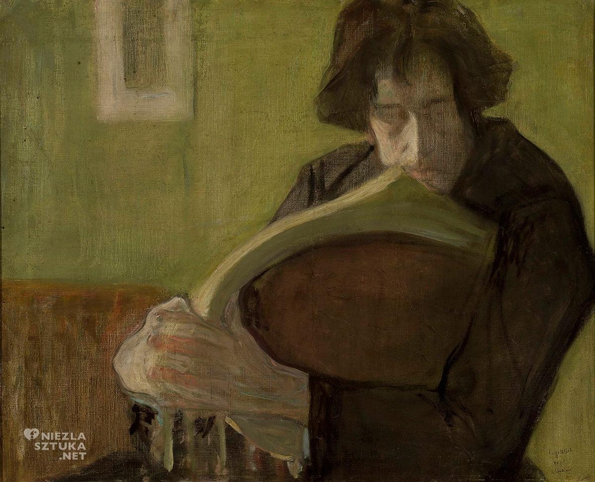 Leopold Gottlieb, Portret Mieczysława Jakimowicza, Muzeum Narodowe w Warszawie, Niezła sztuka