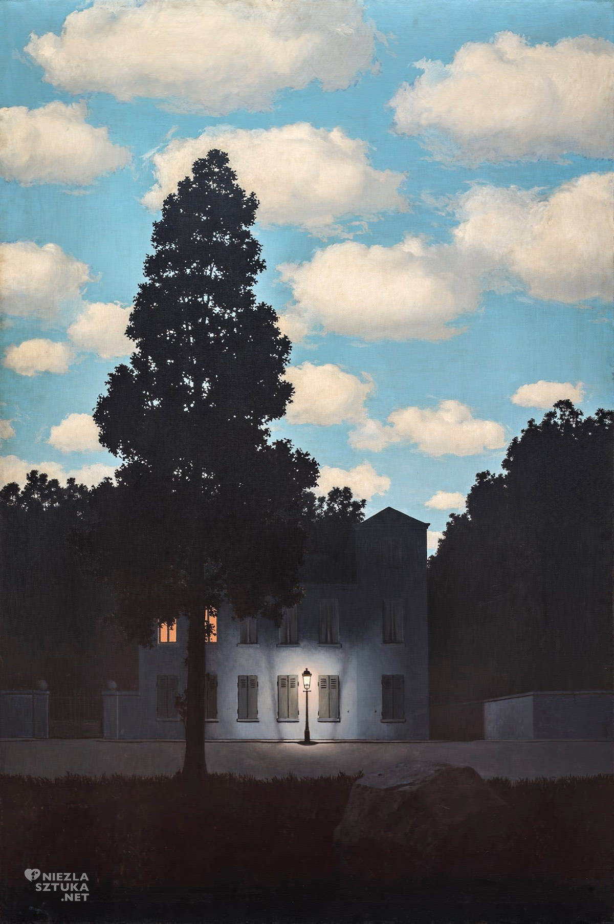 René Magritte, Imperium światła, surrealizm, Belgia, Niezła Sztuka
