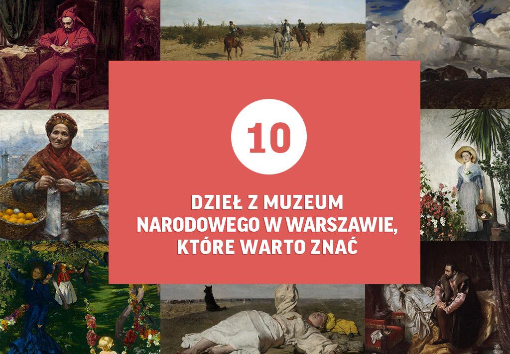 Warszawa, muzeum narodowe w Warszawie, polskie malarstwo, sztuka polska, niezła sztuka