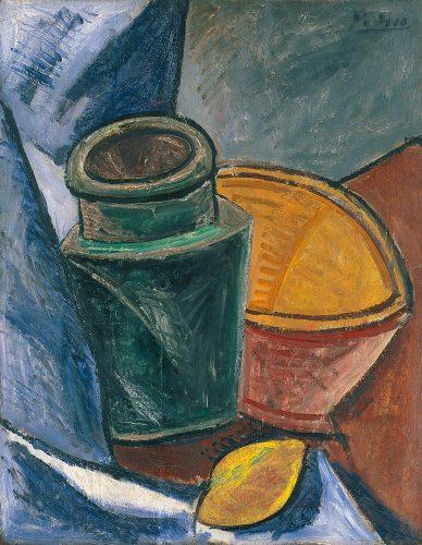 Pablo Picasso, Martwa natura, malarstwo francuskie, Niezła sztuka