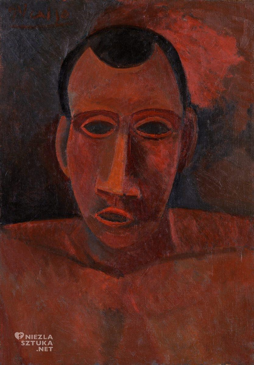 Pablo Picasso, inspiracja, sztuka afrykańska, popiersie, MET, Metropolitan Museum of Art