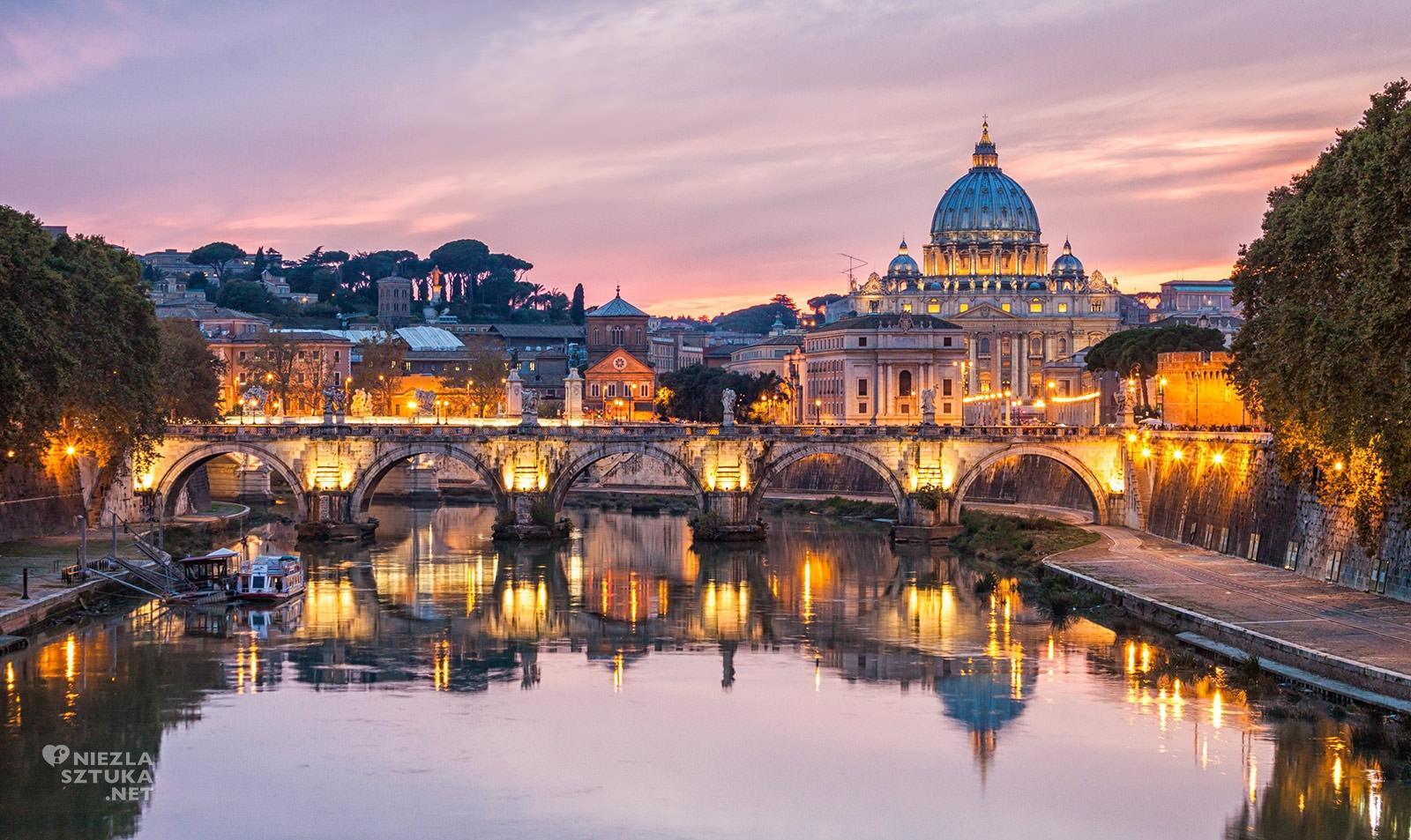 Rzym, panorama, Bernini, sztuka włoska, spacer po Rzymie, przewodnik po Rzymie, Rzym śladem sztuki, Niezła sztuka