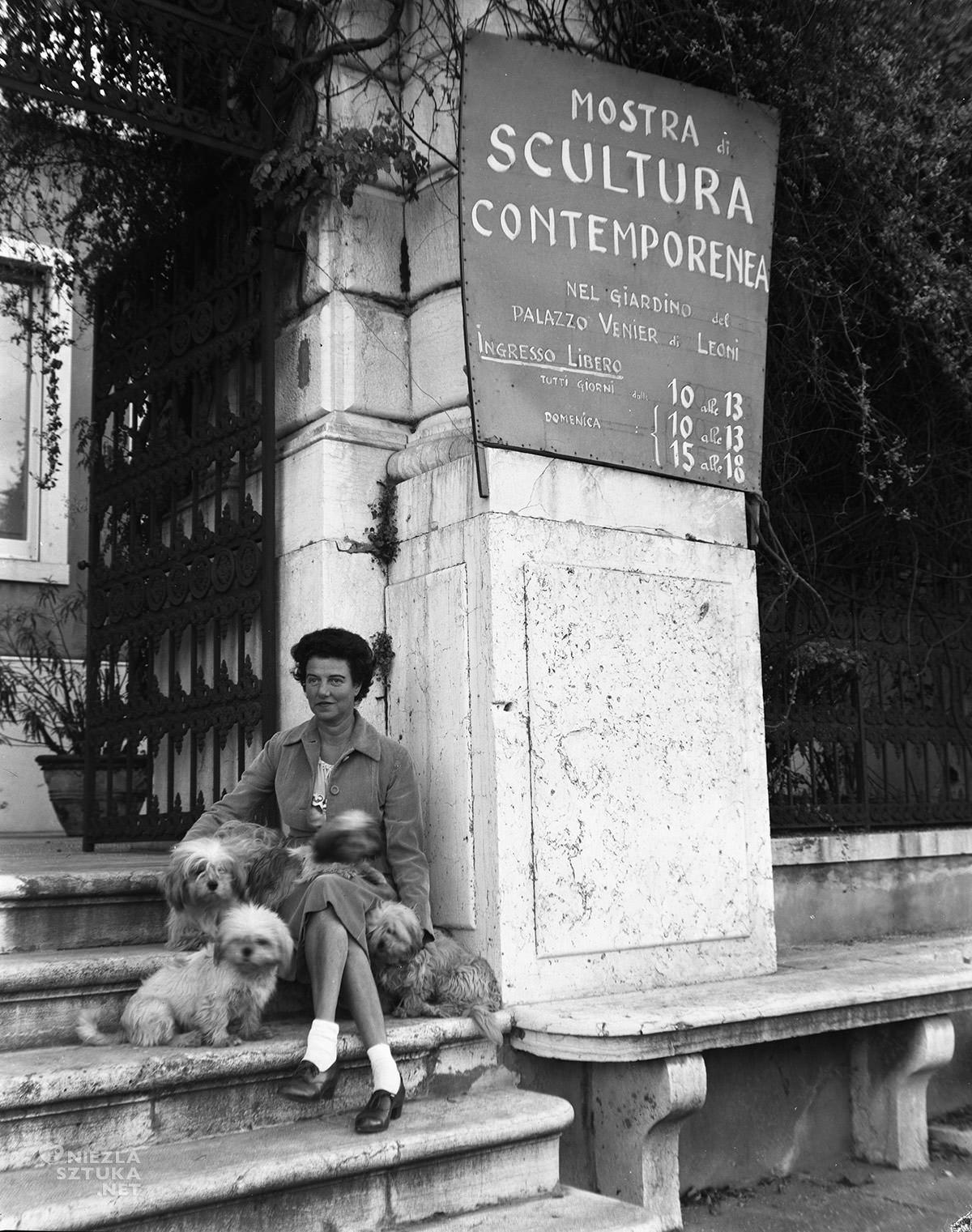 Peggy Guggenheim, Kolekcja Guggenheim, Wenecja, kolekcjoner, sztuka współczesna, Niezła Sztuka