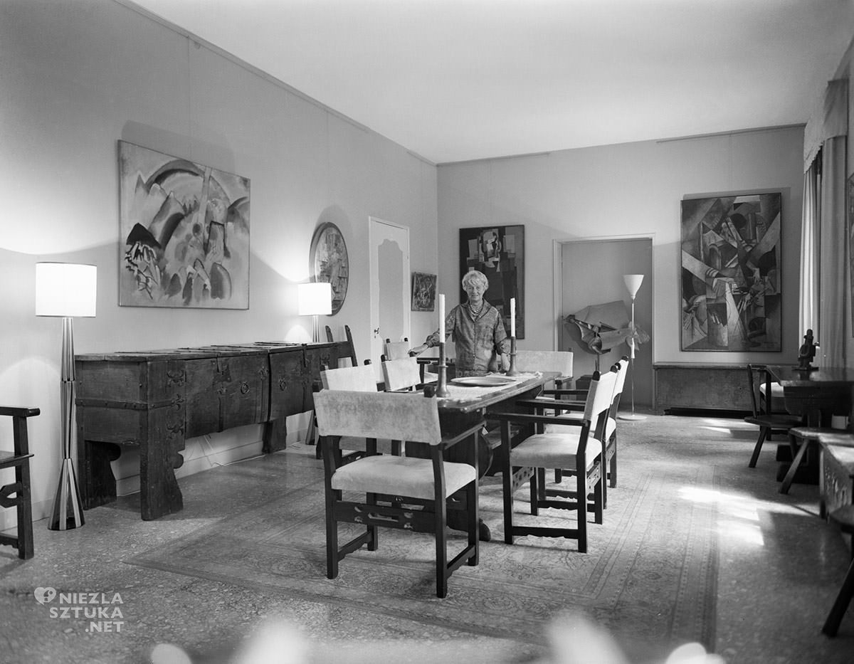 Peggy Guggenheim, Palazzo Venier dei Leoni, Wenecja, sztuka współczesna, kolekcjonerka, kolekcja Guggenheim, Niezła Sztuka