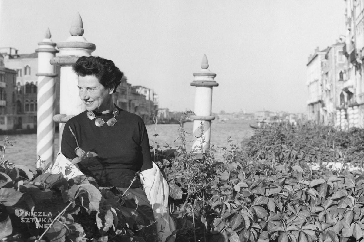 Peggy Guggenheim, Wenecja, kolekcjonerka sztuki, Niezła Sztuka