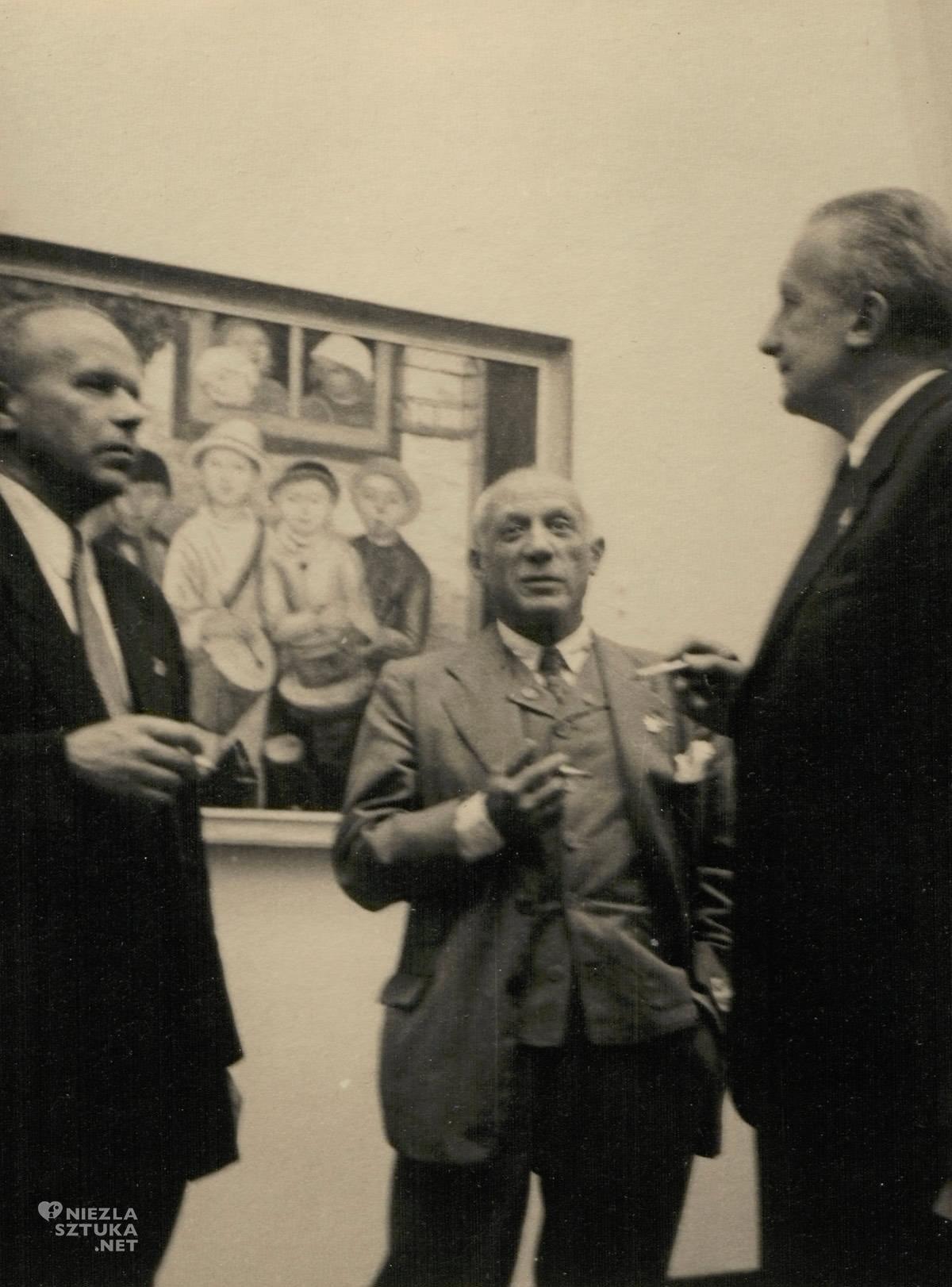 Pablo Picasso w Warszawie, Picasso w Muzeum Narodowym w Warszawie, Niezła sztuka