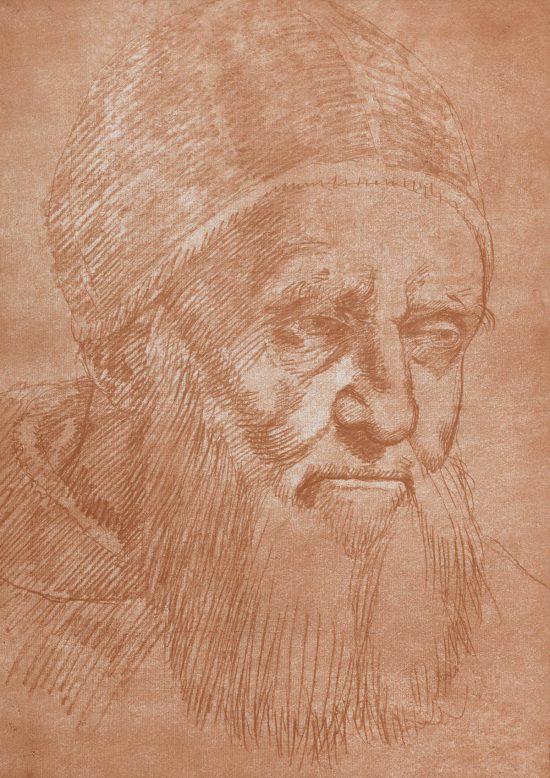 Rafael, Papież Juliusz II, szkic, studium, Niezła sztuka