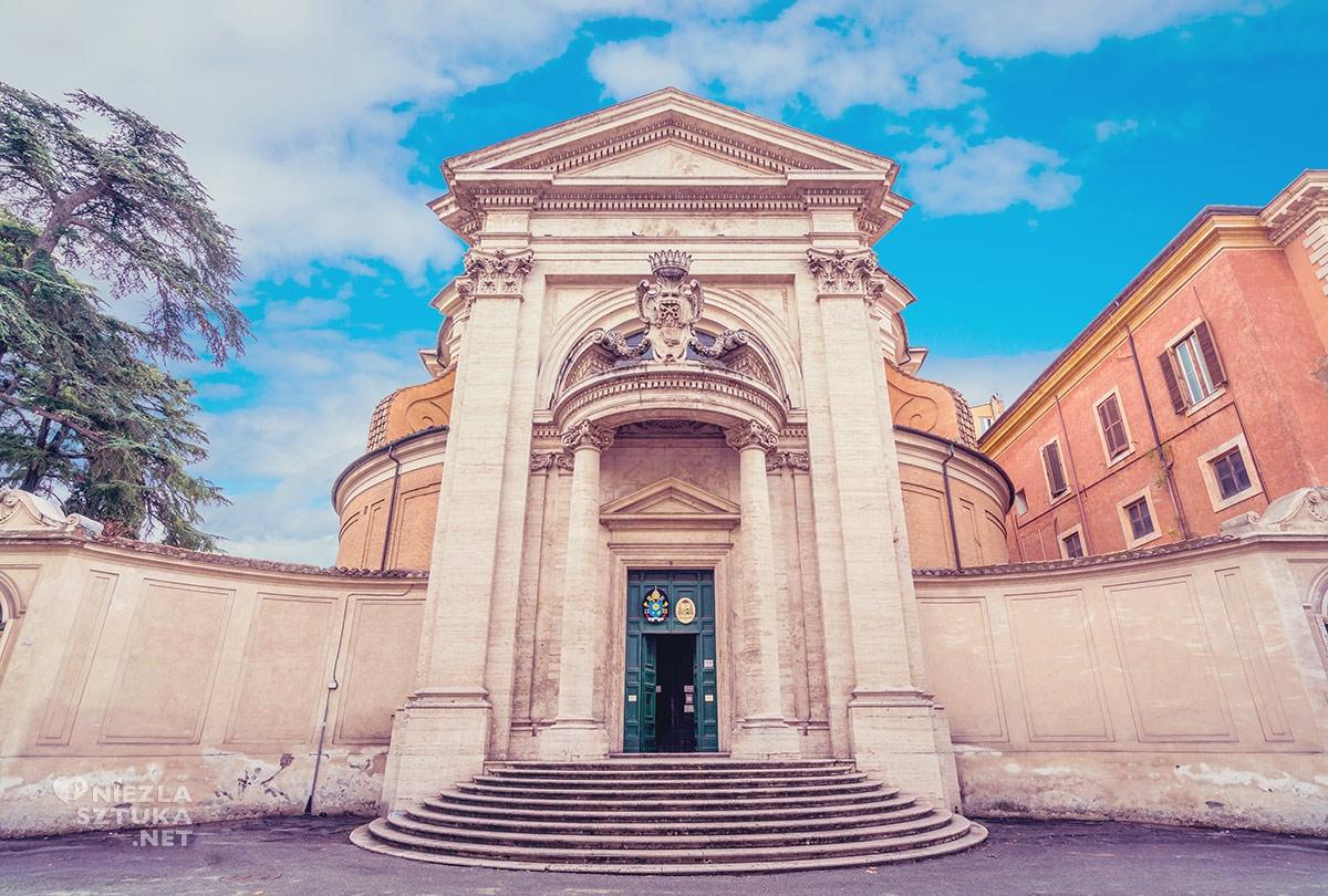 Francesco Borromini, Gian Lorenzo Bernini, kościół Sant'Andrea al Qurinale, sztuka włoska, rzeźba, Rzym, przewodnik po Rzymie, sztuka w Rzymie, Niezła sztuka