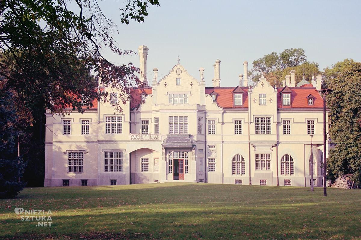 Pałac w Jabłoniu, August Zamoyski, Niezła sztuka