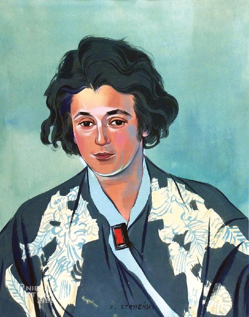 Zofia Stryjeńska, Autoportret, kobiety artystki, sztuka polska, malarka polska, Niezła sztuka