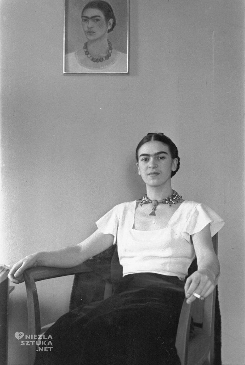 Frida Kahlo, fotografia, Lucienne Bloch, Nowy Jork, malarka, artystka, Meksyk, Niezła Sztuka