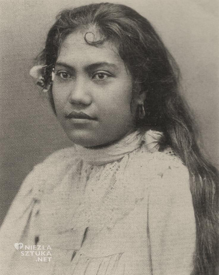 Charles Georges Spitz, Tehura, Tehamana, Tahiti, Niezła sztuka