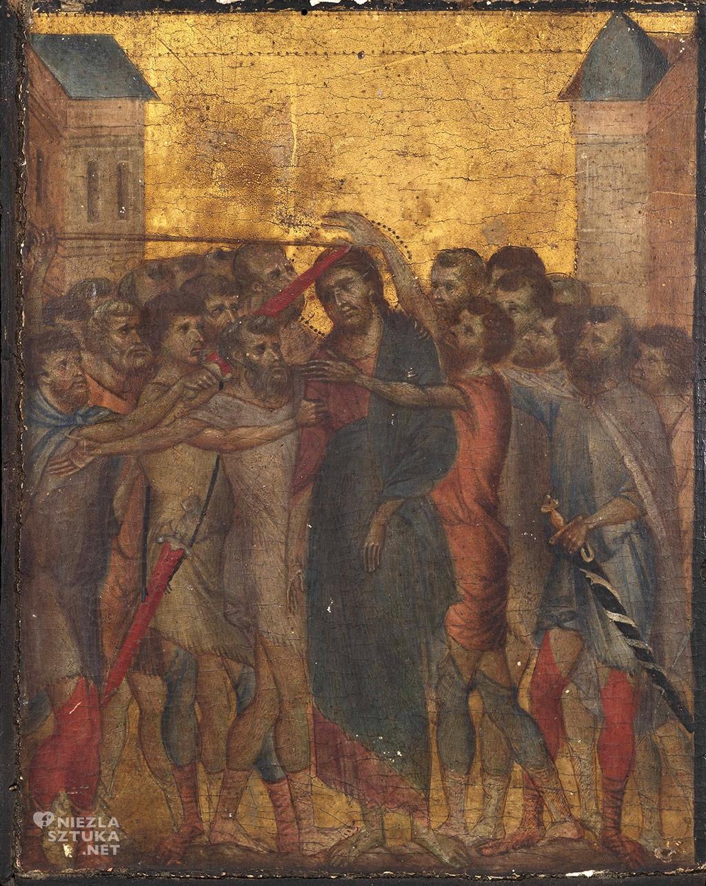 Cimabue, Chrystus ośmieszony, Naigrywanie z Chrystusa, Niezła sztuka