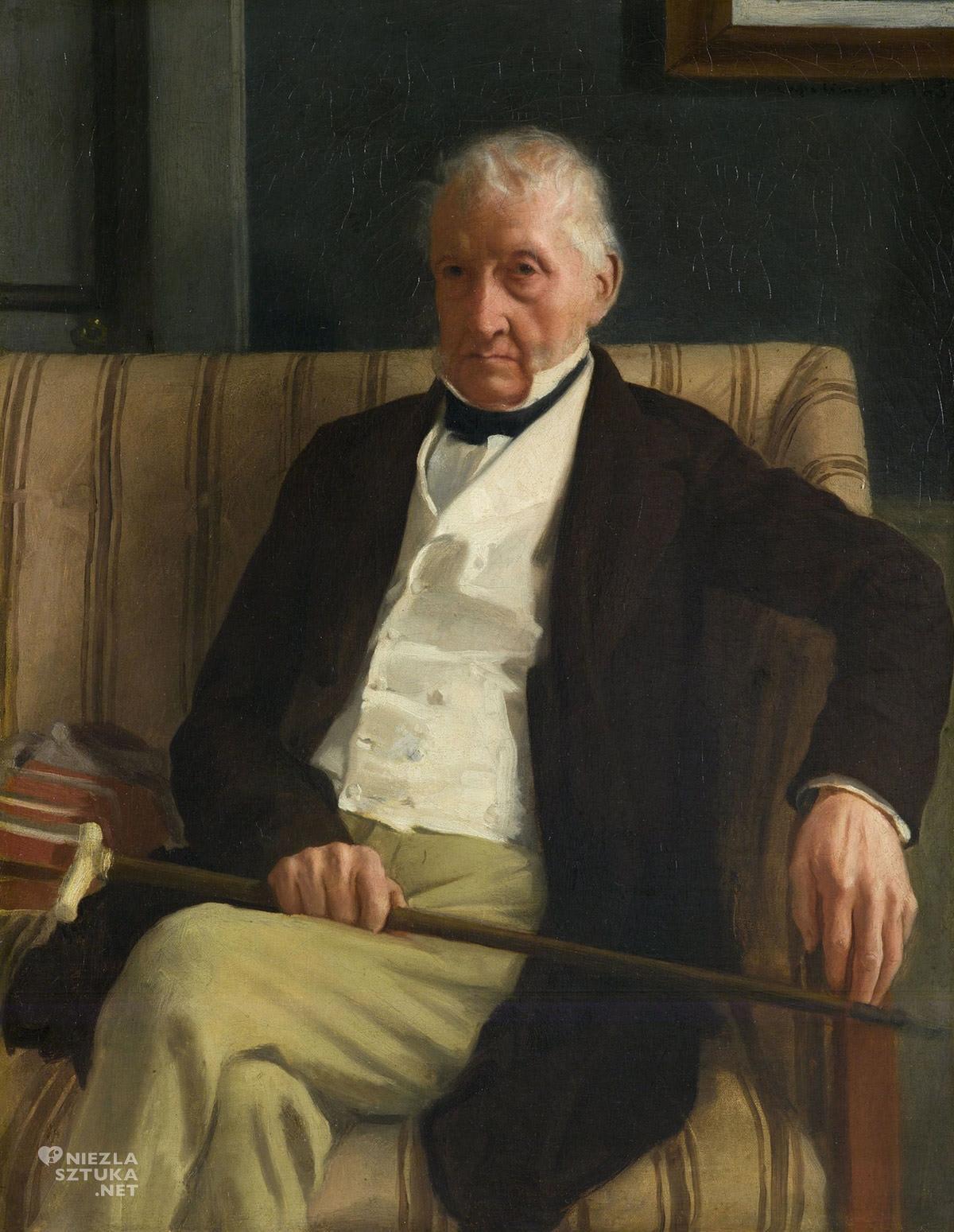Edgar Degas, Portret Rene-Hillaire Degasa, Niezła sztuka
