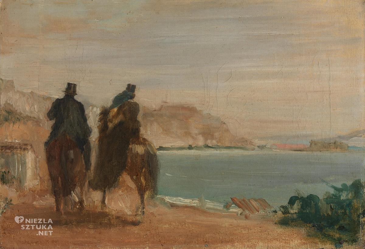 Edgar Degas, Nadmorska promenada, Niezła sztuka
