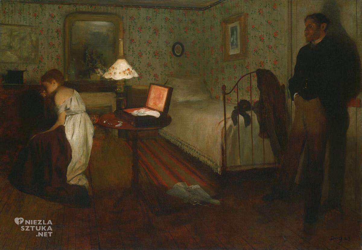 Edgar Degas, Gwałt, Niezła sztuka